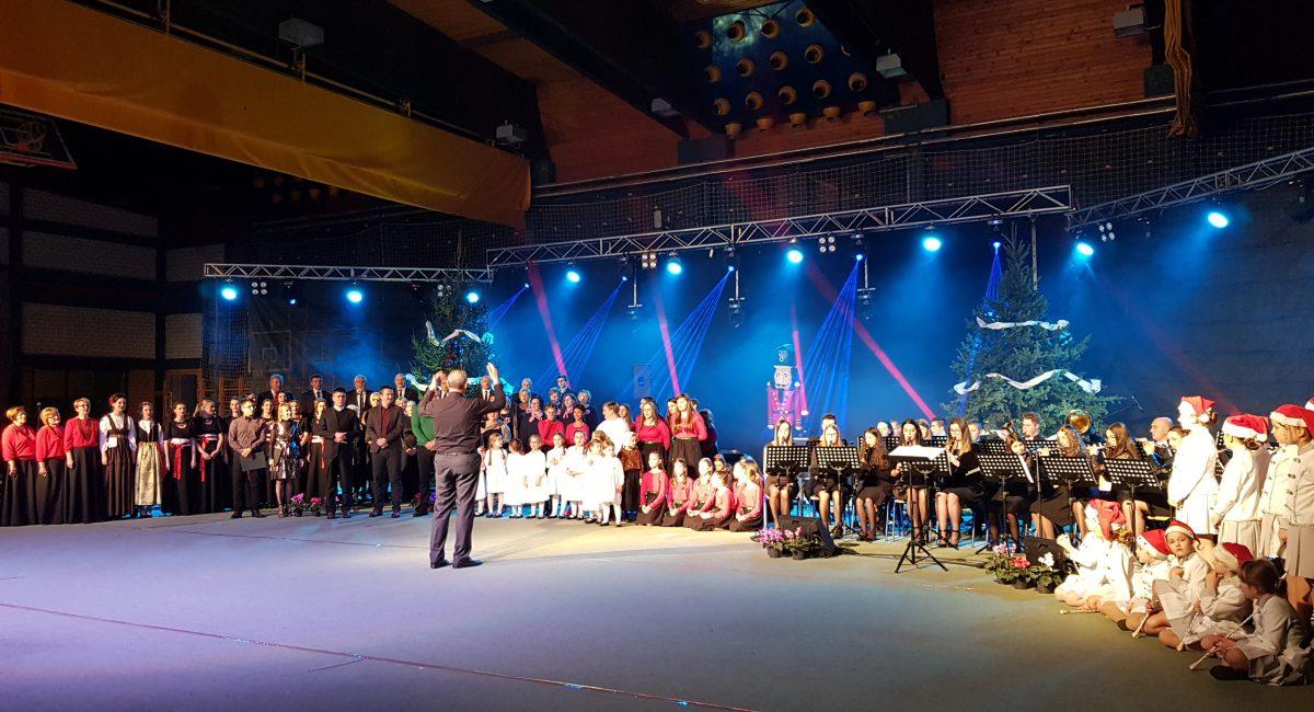 Advent u Đurđevcu: održan Veliki Blagdanski koncert